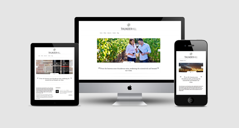 Thunderhill Wines website