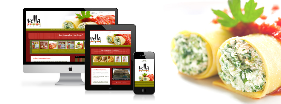 Vella Pasta website